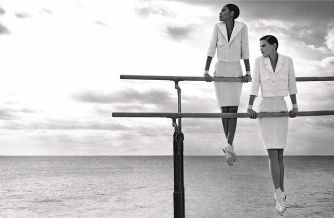 CAMPAIGN Saskia de Brauw & Joan Smalls for Chanel Spring 2012 by Karl Lagerfeld. www.imageamplified.com, Image Amplified (10)
