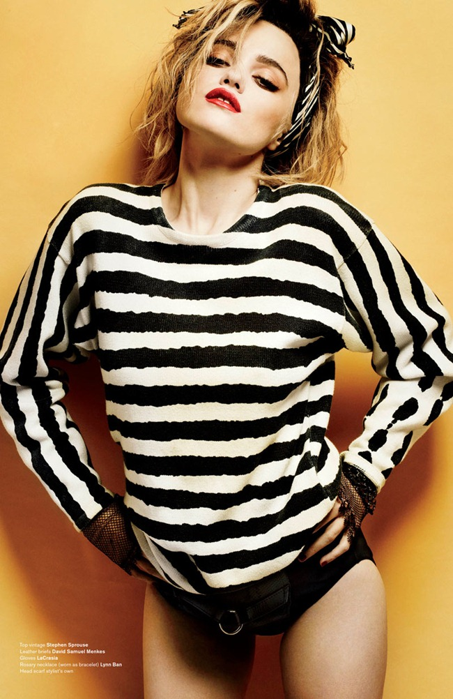 V MAGAZINE- Sky Ferreira in Who's That Girl by Mario Testino. Andrew Richardson, www.imageamplified.com, Image Amplified2