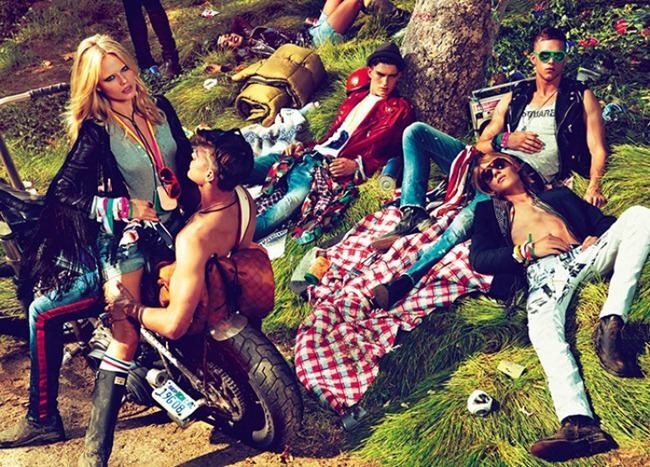 CAMPAIGN- Natasha Poly, Dimitry Tanner, Paolo Anchisi, Matt Woodhouse & Ton Heukels for DSquared2 by Mert & Marcus. www.imageamplified.com, Image Amplified7