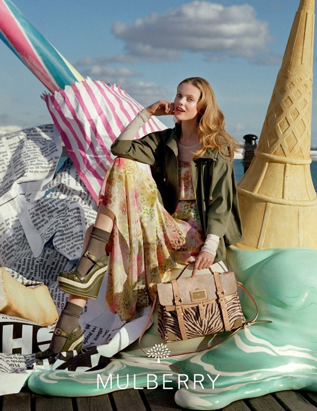 CAMPAIGN- Lindsey Wixson & Frida Gustavsson for Mulberry Spring 2012 by Tim Walker. Edward Enninful, www.imageamplified.com, Image Amplified8