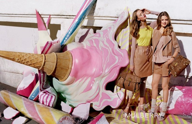 CAMPAIGN- Lindsey Wixson & Frida Gustavsson for Mulberry Spring 2012 by Tim Walker. Edward Enninful, www.imageamplified.com, Image Amplified9