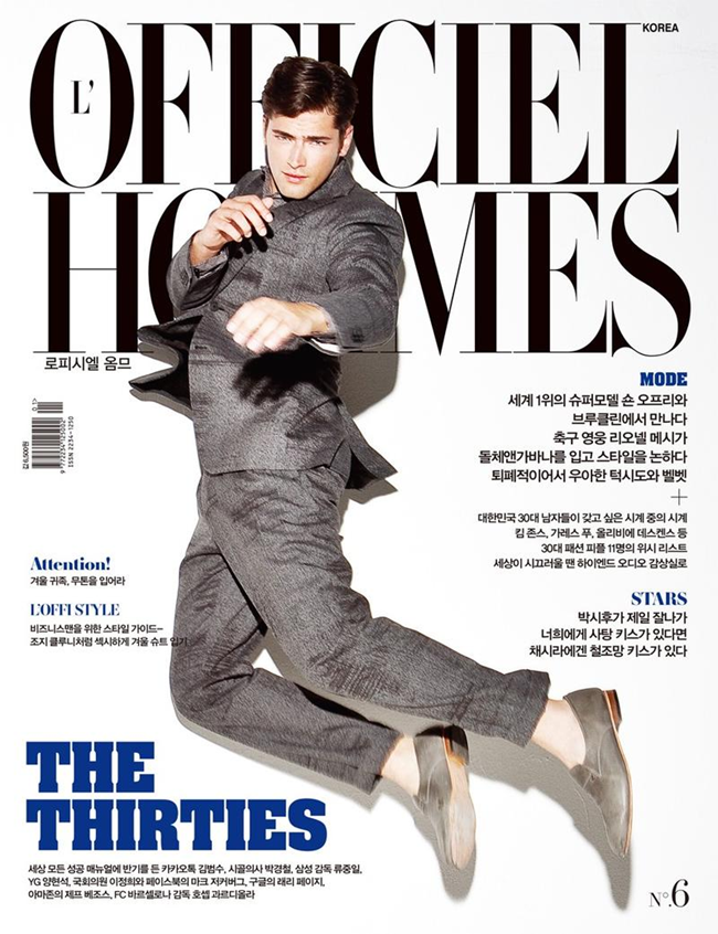 L'OFFICIEL HOMMES- Sean O'Pry in Be A Man by Kristiina Wilson. www.imageamplified.com, Image Amplified9