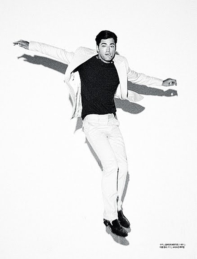 L'OFFICIEL HOMMES- Sean O'Pry in Be A Man by Kristiina Wilson. www.imageamplified.com, Image Amplified2