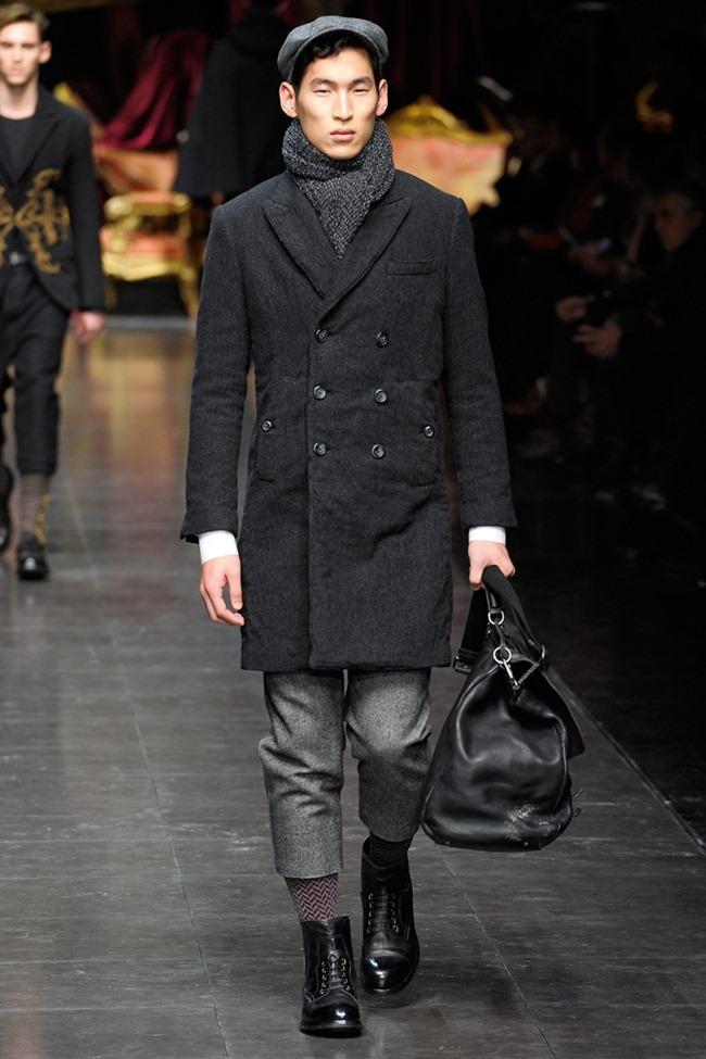 MILAN FASHION WEEK- Dolce & Gabbana Men's Fall 2012. www.imageamplified.com, Image Amplified4 (1)