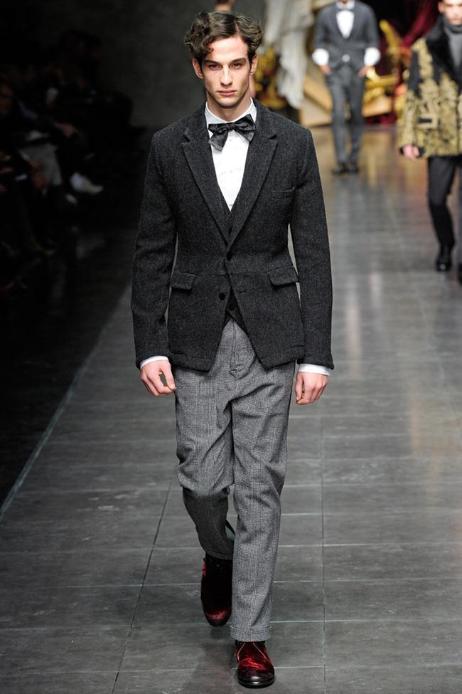 MILAN FASHION WEEK- Dolce & Gabbana Men's Fall 2012. www.imageamplified.com, Image Amplified4 (2)
