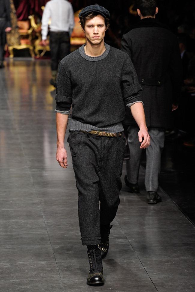 MILAN FASHION WEEK- Dolce & Gabbana Men's Fall 2012. www.imageamplified.com, Image Amplified4 (3)