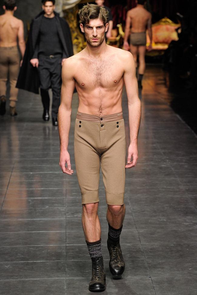 MILAN FASHION WEEK- Dolce & Gabbana Men's Fall 2012. www.imageamplified.com, Image Amplified0 (3)