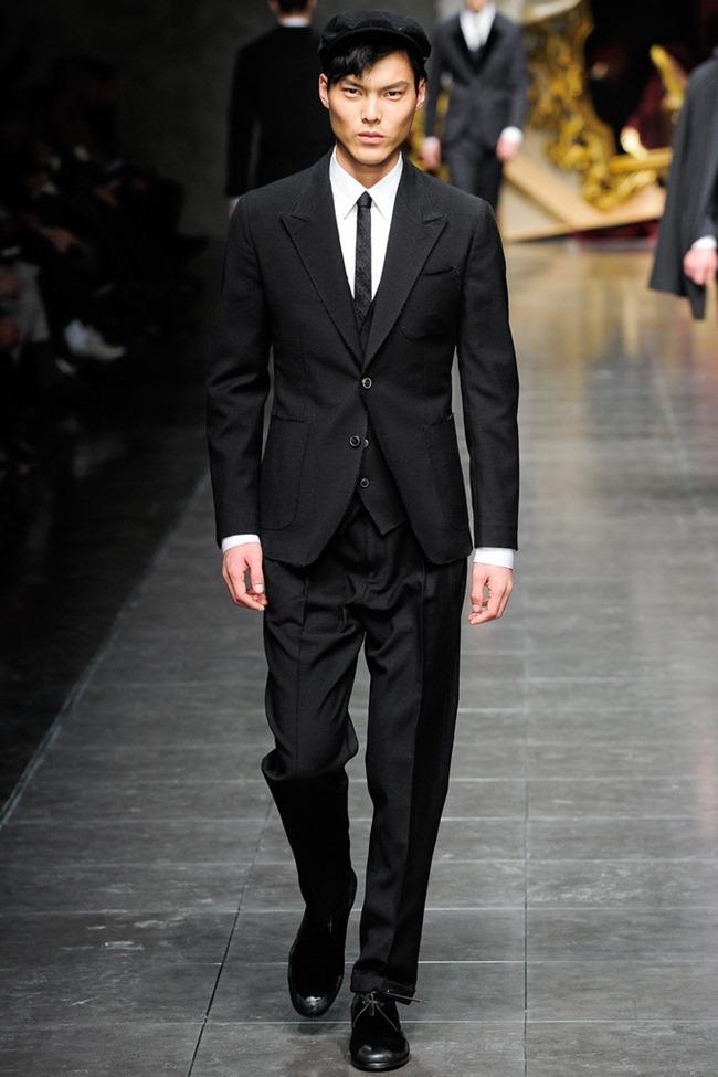 MILAN FASHION WEEK- Dolce & Gabbana Men's Fall 2012. www.imageamplified.com, Image Amplified0