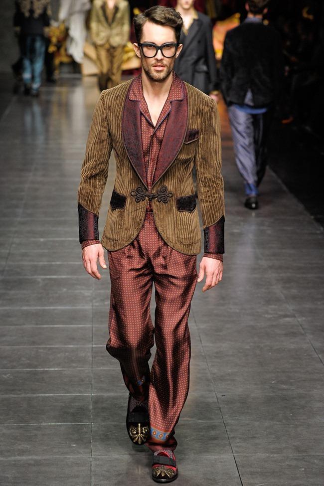 MILAN FASHION WEEK- Dolce & Gabbana Men's Fall 2012. www.imageamplified.com, Image Amplified6 (5)