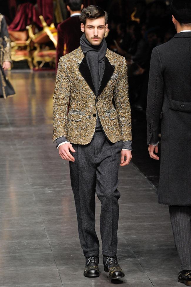MILAN FASHION WEEK- Dolce & Gabbana Men's Fall 2012. www.imageamplified.com, Image Amplified6 (6)
