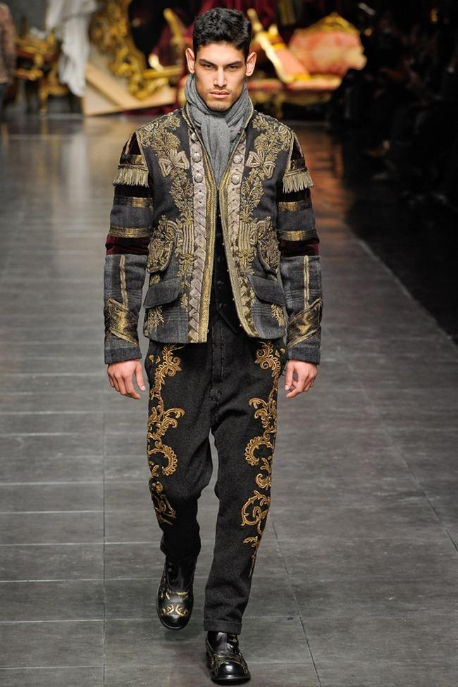 MILAN FASHION WEEK- Dolce & Gabbana Men's Fall 2012. www.imageamplified.com, Image Amplified6 (7)