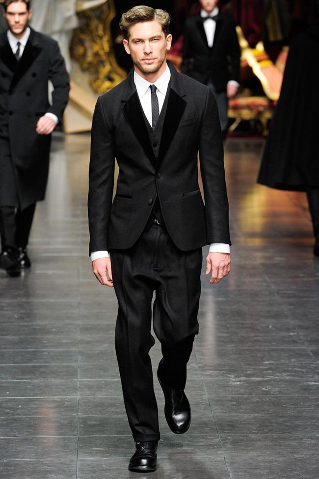 MILAN FASHION WEEK- Dolce & Gabbana Men's Fall 2012. www.imageamplified.com, Image Amplified6