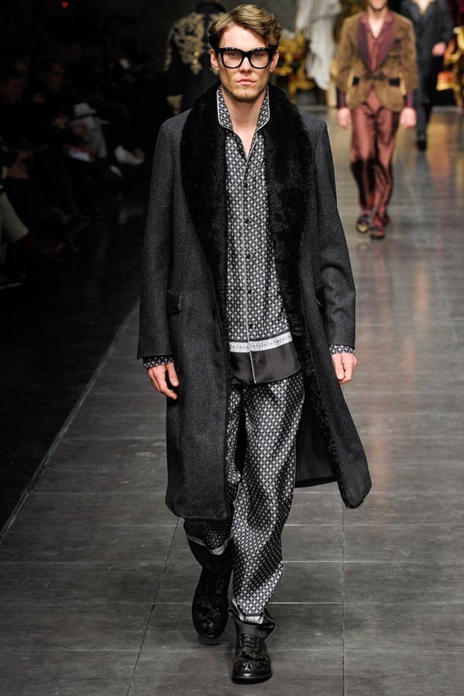 MILAN FASHION WEEK- Dolce & Gabbana Men's Fall 2012. www.imageamplified.com, Image Amplified5 (5)