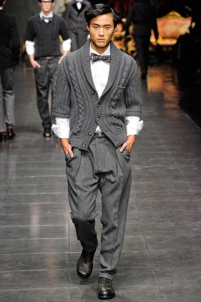 MILAN FASHION WEEK- Dolce & Gabbana Men's Fall 2012. www.imageamplified.com, Image Amplified6 (2)
