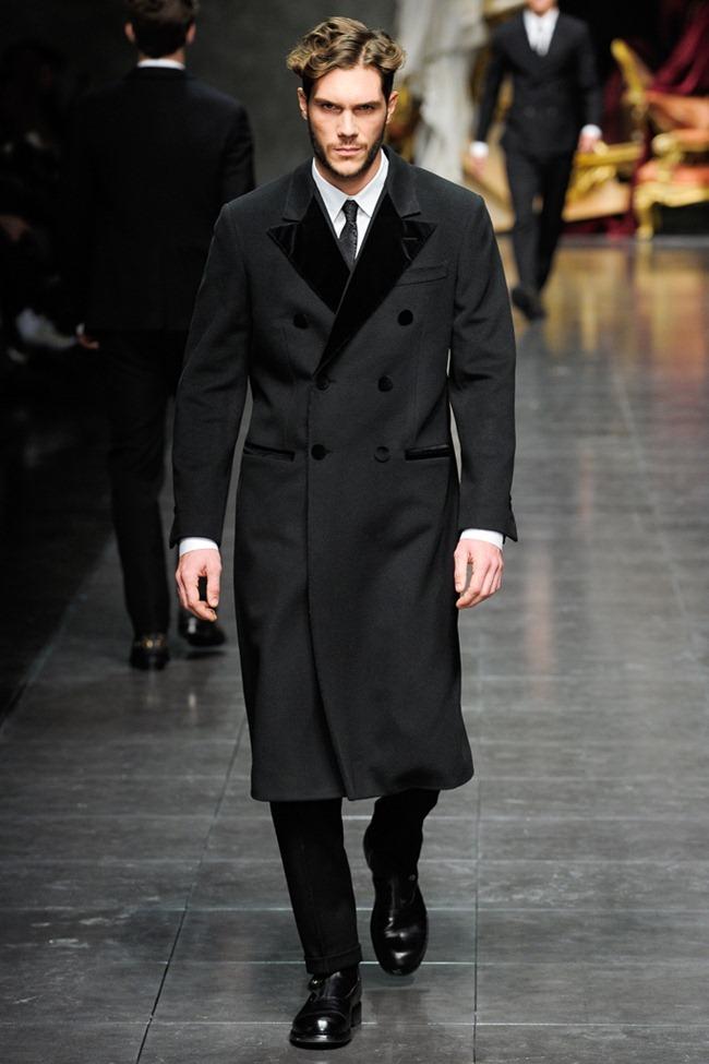 MILAN FASHION WEEK- Dolce & Gabbana Men's Fall 2012. www.imageamplified.com, Image Amplified7