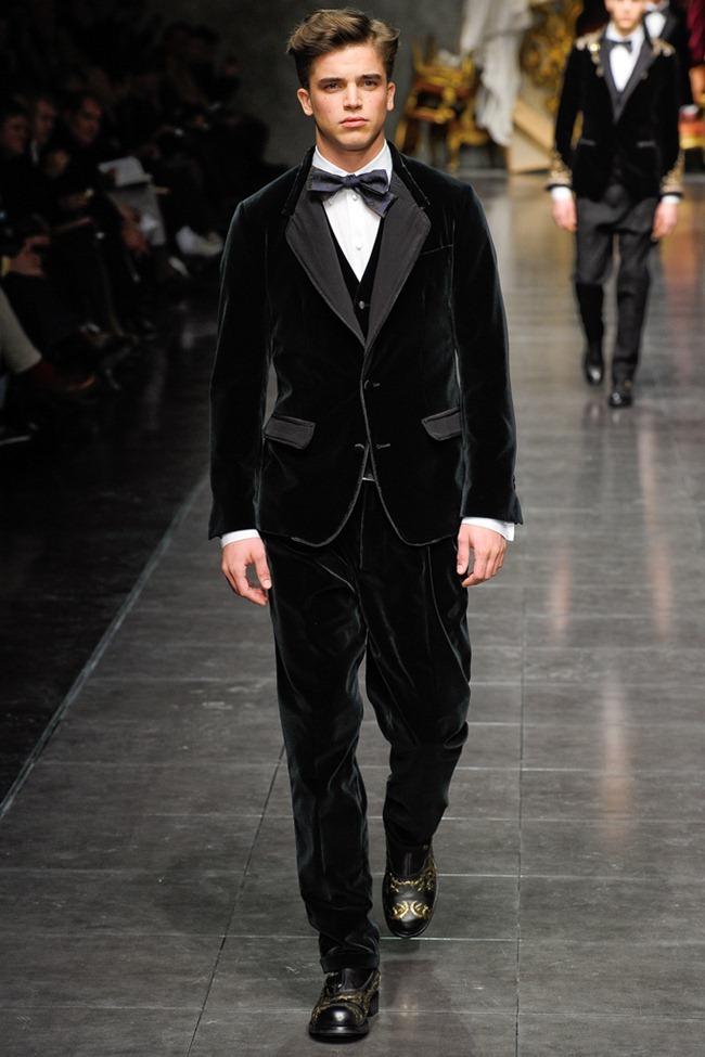 MILAN FASHION WEEK- Dolce & Gabbana Men's Fall 2012. www.imageamplified.com, Image Amplified9 (5)