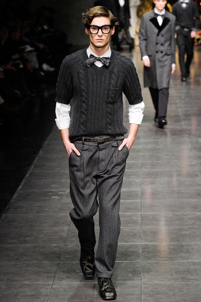MILAN FASHION WEEK- Dolce & Gabbana Men's Fall 2012. www.imageamplified.com, Image Amplified7 (2)