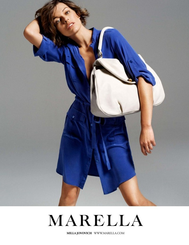 CAMPAIGN- Milla Jovovich for Marella Spring 2012 by Inez & Vinoodh. www.imageamplified.com, Image Amplified7