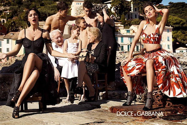 CAMPAIGN- Bianca Balti & Monica Bellucci for Dolce & Gabbana Spring 2012 by Giampaolo Sgura. www.imageamplified.com, Image Amplified9