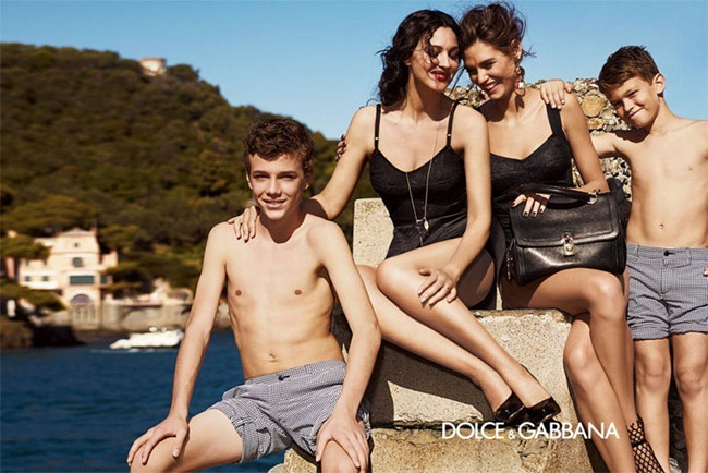 CAMPAIGN- Bianca Balti & Monica Bellucci for Dolce & Gabbana Spring 2012 by Giampaolo Sgura. www.imageamplified.com, Image Amplified6