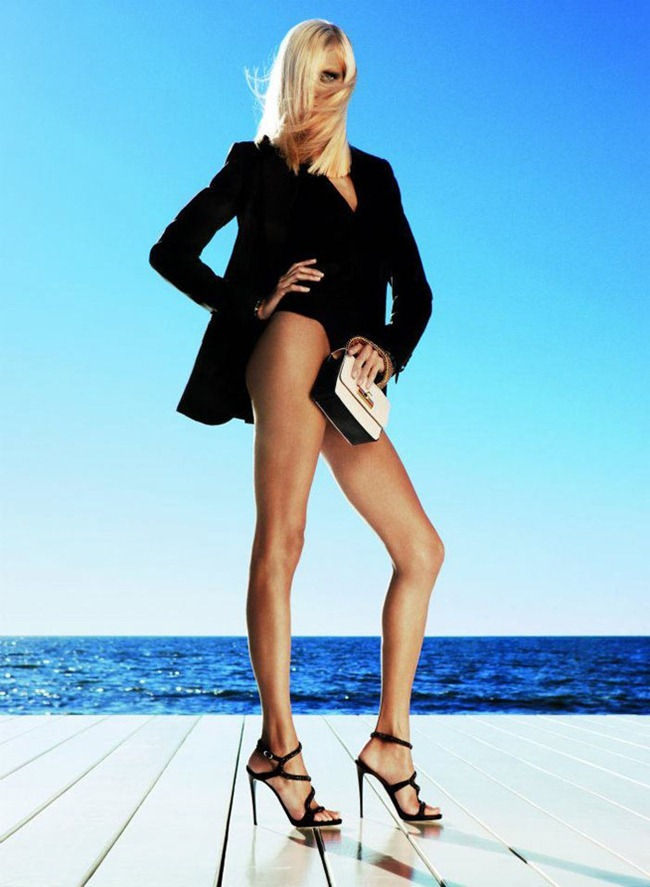 CAMPAIGN- Anja Rubik for Giuseppe Zanotti Spring 2012 by Inez & Vinoodh. www.imageamplified.com, Image Amplified7