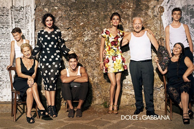 CAMPAIGN- Bianca Balti & Monica Bellucci for Dolce & Gabbana Spring 2012 by Giampaolo Sgura. www.imageamplified.com, Image Amplified3