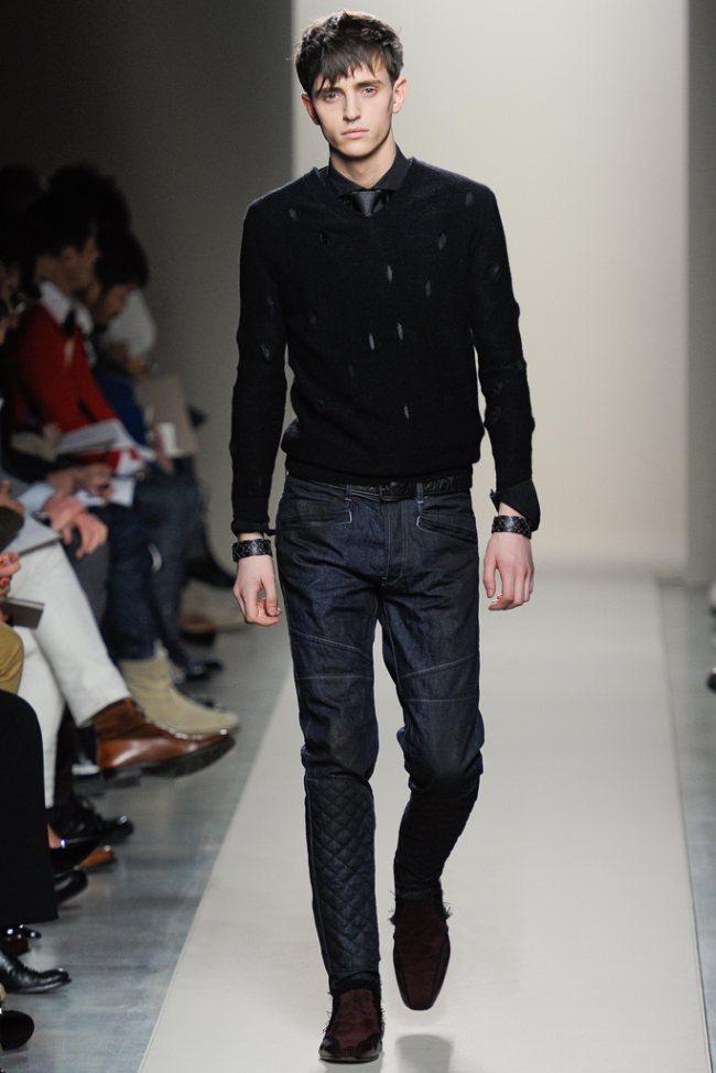 MILAN FASHION WEEK- Bottega Veneta Men's Fall 2012. www.imageamplified.com, Image Amplified1 (1)