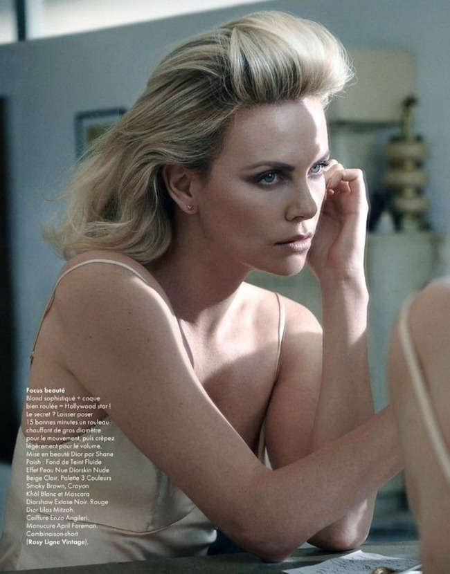 ELLE FRANCE- Charlize Theron by Mark Seliger. Hortense Manga, January 2012, www.imageamplified.com, Image Amplified7