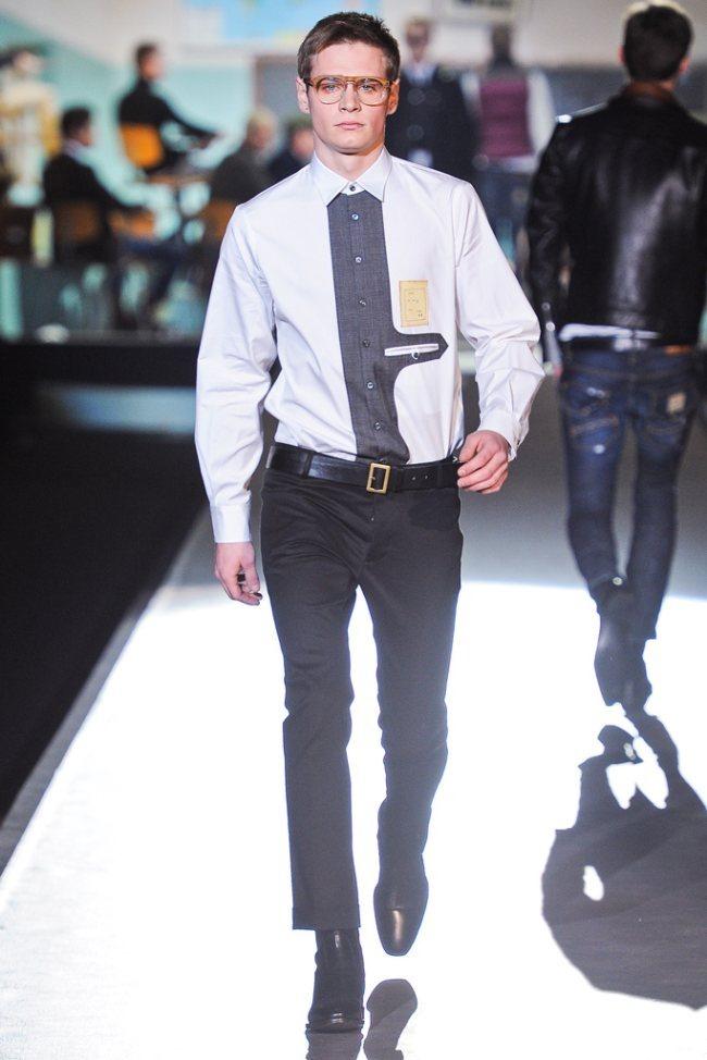MILAN FASHION WEEK- Dsquared² Men's Fall 2012. www.imageamplified.com, Image Amplified9 (2)