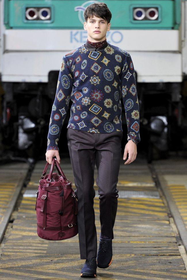 PARIS FASHION WEEK- Kenzo Men's Fall 2012. www.imageamplified.com, Image Amplified1 (3)