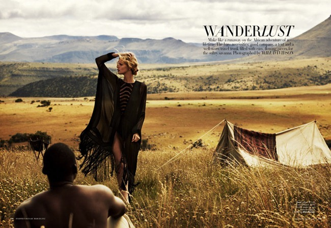 HARPER'S BAZAAR AUSTRALIA Marloes Horst in Wanderlust by Will Davidson. Jillian Davidson, March 2012, www.imageamplified.com, Image Amplified (8)