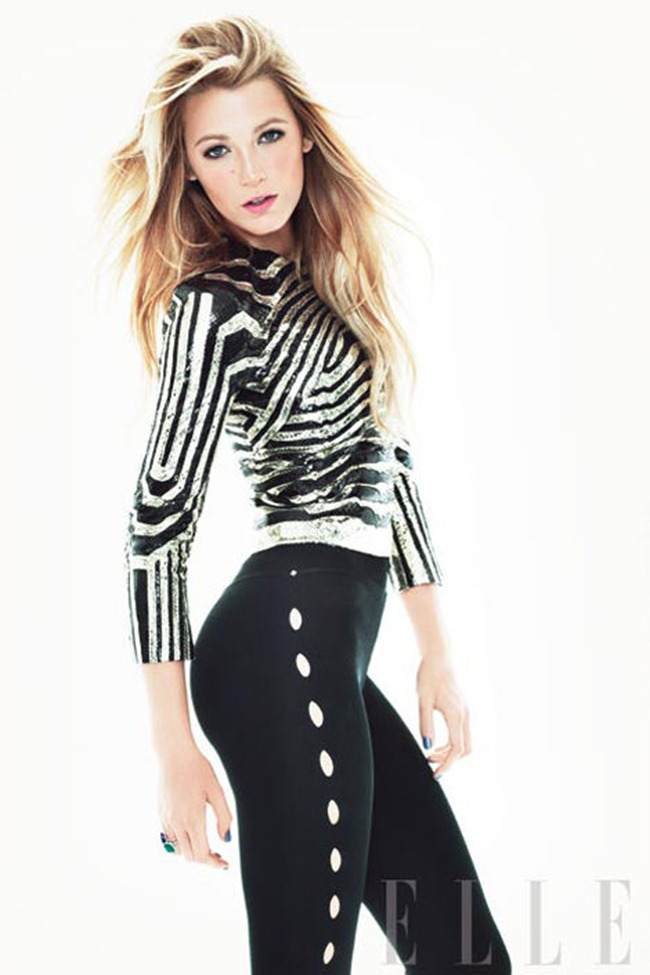 ELLE MAGAZINE- Blake Lively by Tom Munro. March 2012, www.imageamplified.com, Image Amplified5