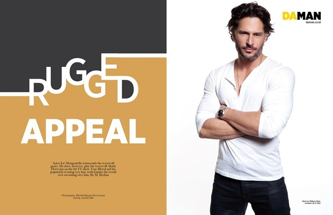 DAMAN INDONESIA- Joe Manganiello in Rugged Appeal by Mitchell Nguyen McCormack. Joshua Seth, March 2012, www.imageamplified.com, Image Amplified2