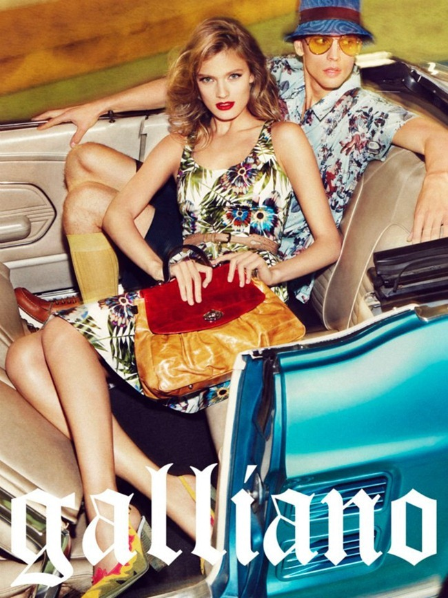 CAMPAIGN- Constance Jablonski & Benjamin Eidem for Galliano Spring 2012 by Sebastian Kim. www.imageamplified.com, Image Amplified  5