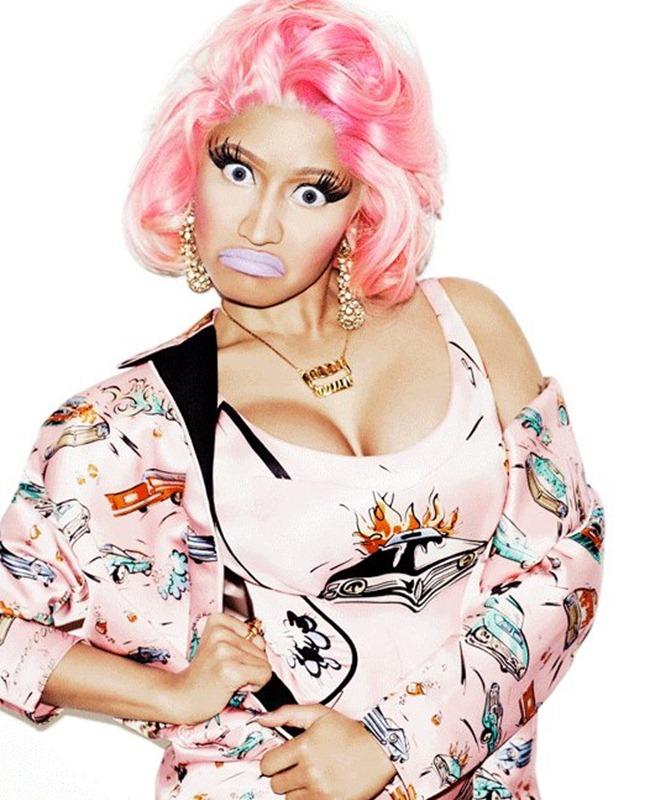 WONDERLAND MAGAZINE- Nicki Minaj by Matt Irwin. March 2012, www.imageamplified.com, Image Amplified1