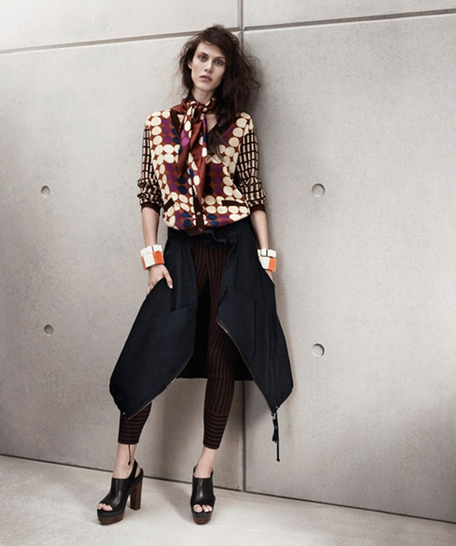 LOOKBOOK- Aymeline Valade for Marni at H&M Spring 2012 by Josh Olins. www.imageamplified.com, Image Amplified9 (1)