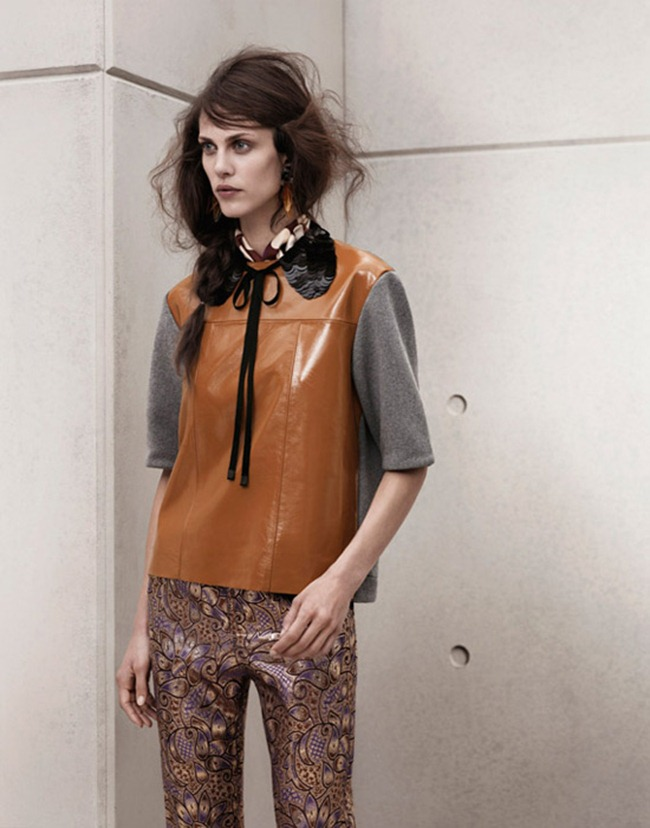 LOOKBOOK- Aymeline Valade for Marni at H&M Spring 2012 by Josh Olins. www.imageamplified.com, Image Amplified7 (1)