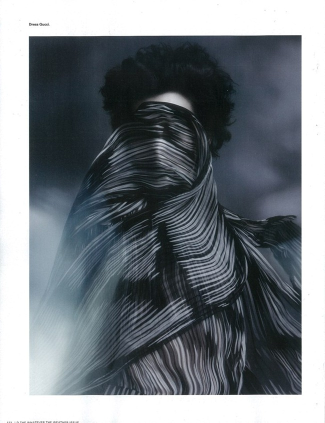 I-D MAGAZINE- Stella Tennant  in Gale-Force Winds Up to 80MPH, Feak Rain, Widespread Flooding by Sølve Sundsbø. Charlotte Stockdale, Spring 2012, www.imageamplified.com, Image Amplified2