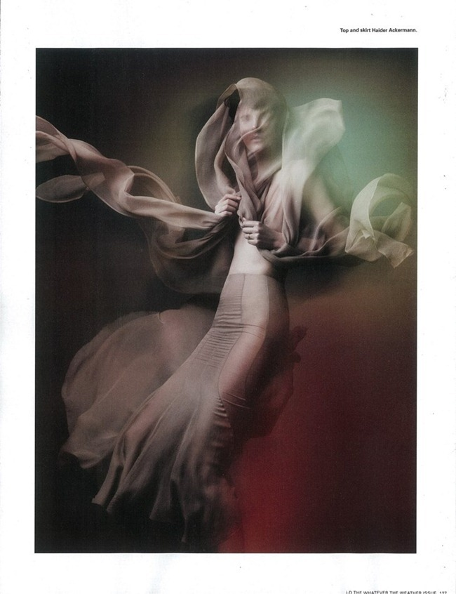 I-D MAGAZINE- Stella Tennant  in Gale-Force Winds Up to 80MPH, Feak Rain, Widespread Flooding by Sølve Sundsbø. Charlotte Stockdale, Spring 2012, www.imageamplified.com, Image Amplified5