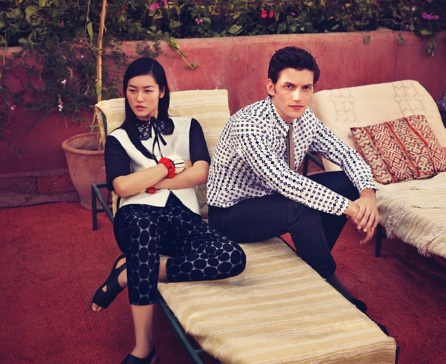 CAMPAIGN Imogen Poots & Liu Wen for Marni at H&M Spring 2012 by Sofia Coppola. www.imageamplified.com, Image Amplified (7)
