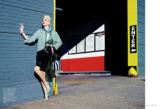 ELLE MAGAZINE hannelore Knuts in Retro Active by Horst Diekgerdes. Brian Molloy, March 2012, www.imageamplified.com, Image Amplified (2)