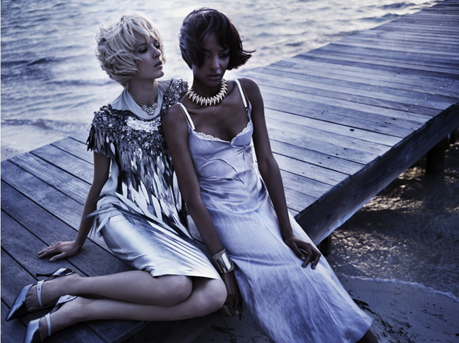 VOGUE JAPAN- Daria Strokous &7 Jourdan Dunn by Josh Olins. April 2012, www.imageamplified.com, Image Amplified6