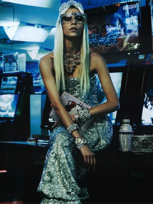 VOGUE JAPAN- Aline Weber in The Girl Who Rocks the Planet by Giampaolo Sgura. Anna Dello Russo, April 2012, www.imageamplified.com, Image Amplified2
