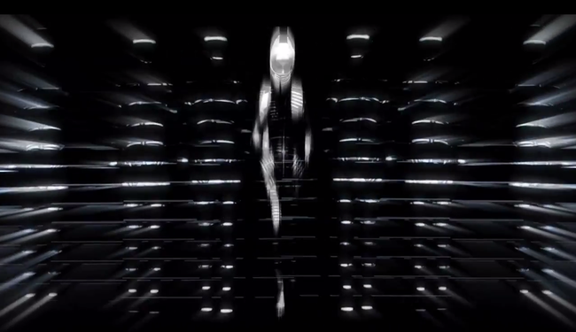 FASHION VIDEO/SHOWSTUDIO: Visions Couture at Le Printemps - Gareth Pugh by Nick Knight, Featuring Daphne Guinness. Image Amplified www.imageamplified.com