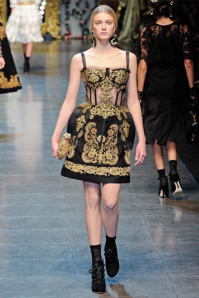 MILAN FASHION WEEK Dolce &  Gabbana Fall 2012. www.imageamplified.com, Image Amplified (45)
