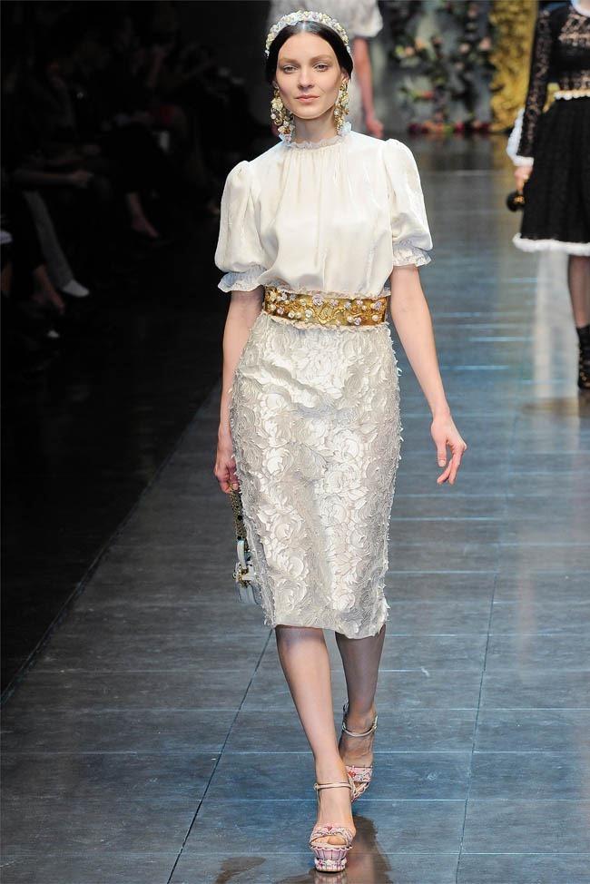 MILAN FASHION WEEK Dolce &  Gabbana Fall 2012. www.imageamplified.com, Image Amplified (10)