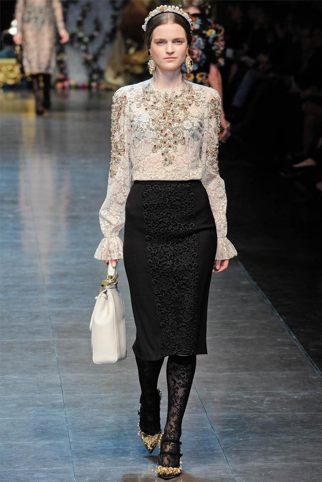 MILAN FASHION WEEK Dolce &  Gabbana Fall 2012. www.imageamplified.com, Image Amplified (15)