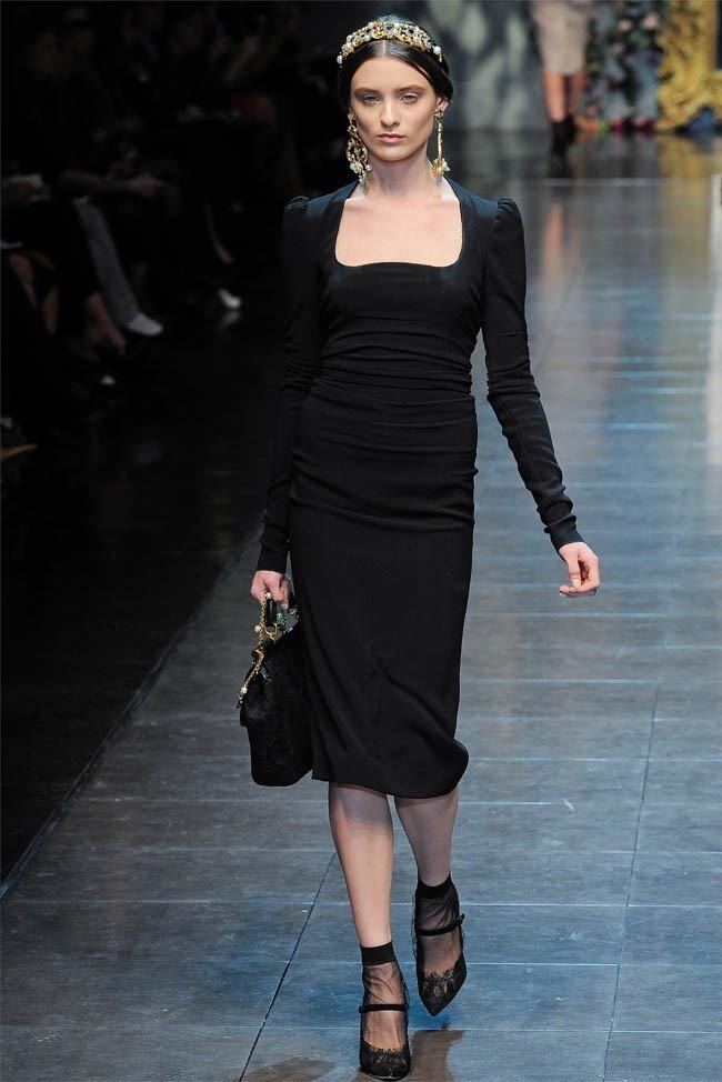 MILAN FASHION WEEK Dolce &  Gabbana Fall 2012. www.imageamplified.com, Image Amplified (27)