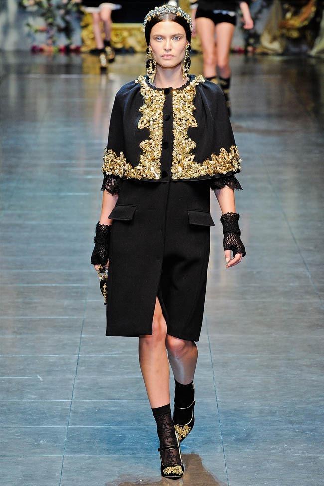 MILAN FASHION WEEK Dolce &  Gabbana Fall 2012. www.imageamplified.com, Image Amplified (41)