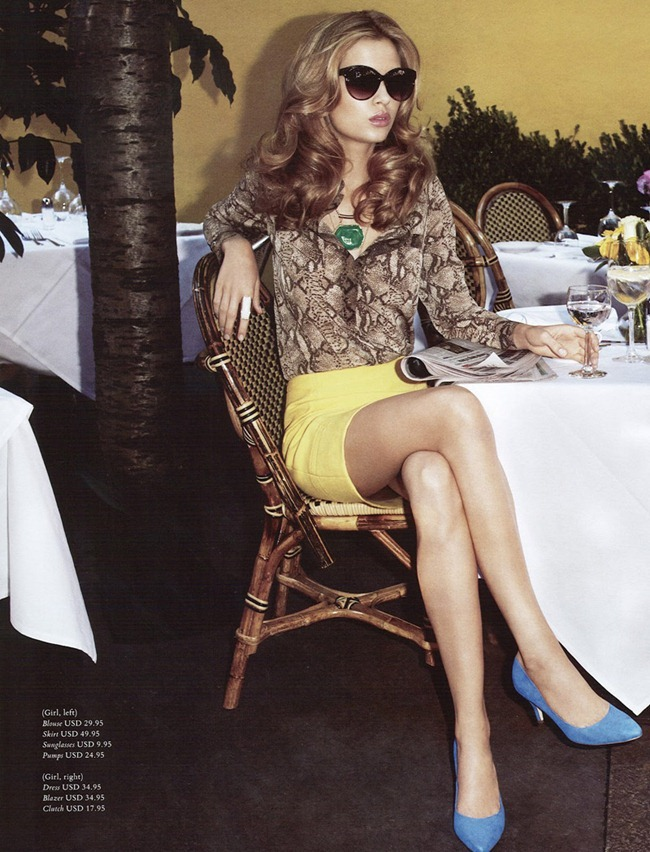 H&M MAGAZINE Abbey Lee Kershaw & Josephine Skriver in Ready Steady Gold by Terry Richardson. Julia Von Boehm, Spring 2012, www.imageamplified.com, Image Amplified (7)